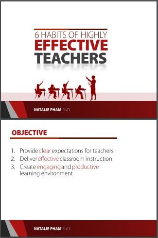 6 Habits of Highly Effective Teachers